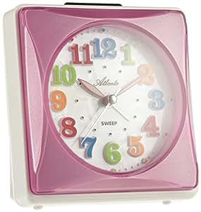 atlanta kinderwecker rosa pink f r m dchen ohne ticken mit. Black Bedroom Furniture Sets. Home Design Ideas