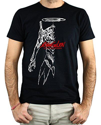 PLANETACAMISETA Camiseta Videojuego Evangelion (L)
