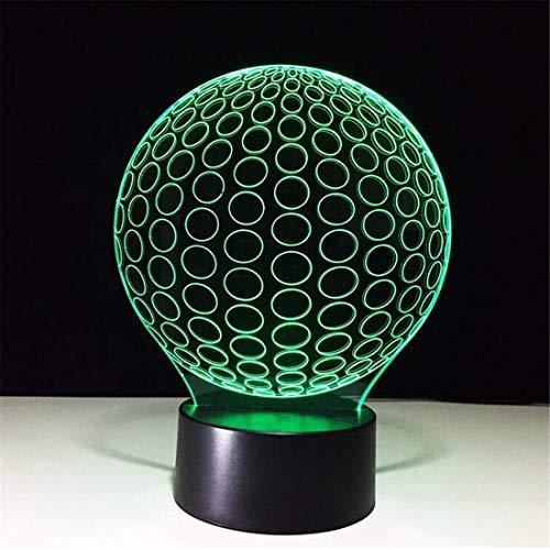 Led Nachtlicht Scheinwerfer 3D Led 7 Farben Ändern Schreibtischbeleuchtung Golf Ball Nachtlicht