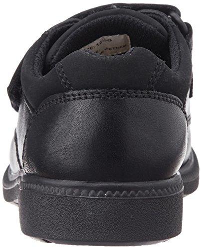 Clarks Deaton Inf, Low-Top Sneaker bambino Nero (nero)
