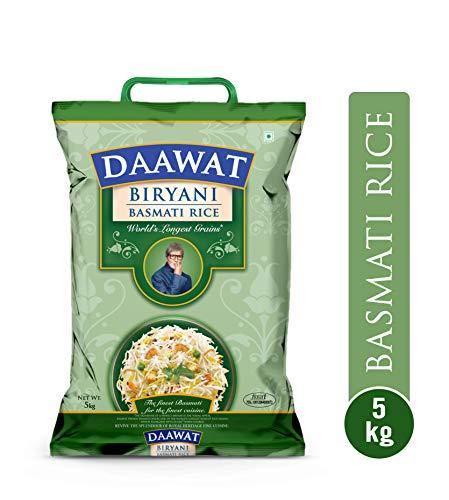 1. Daawat Biryani Basmati Rice