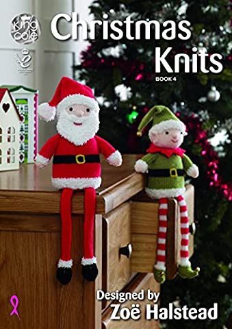 King Cole Christmas Knits 4 Knitting Pattern Book by Zoe