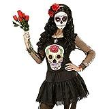 Shirt Gr. M / L Dia de los Muertos / Pullover Tag der Toten für Damen / Halloween Kostüm Zubehör