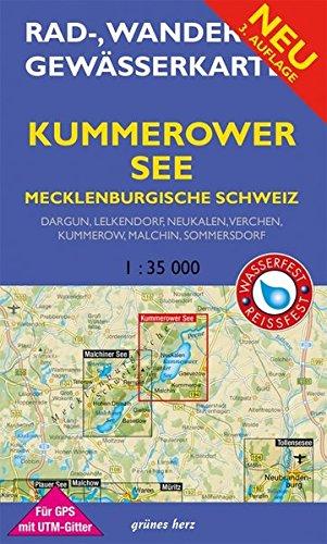 Mecklenburgische Seenplatte Karte Pdf.Joby Petunia Pdf Rad Wander Und Gewasserkarte