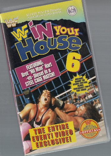 WWF - In Your House 6 [VHS] [UK - Jake Diesel