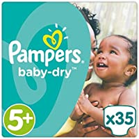 Pampers Baby Dry Taille 5  + Essential Lot 35 couches