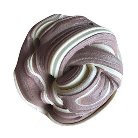 Winkey Multicolor Fluffy Floam Slime Scented Stress Relief No Borax Kids Toy Sludge Toy (E)