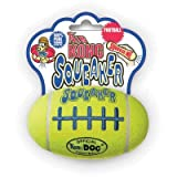 Jouet Kong AirDog Squeaker Rugby - S