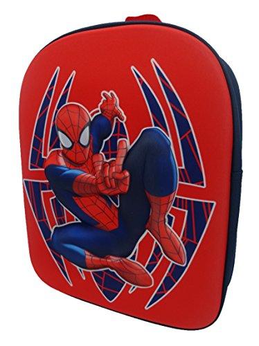 Spiderman Sac à dos enfants, Red (Rouge) - SPID001208