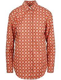 Burberry Mujer 8003003 Rojo Algodon Camisa