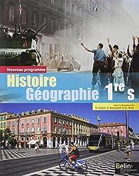 Histoire-géographie 1re S 2015 - Livre de l'élève