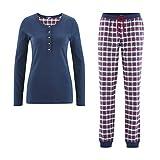 Living Crafts Flanell-Schlafanzug S, Tartan