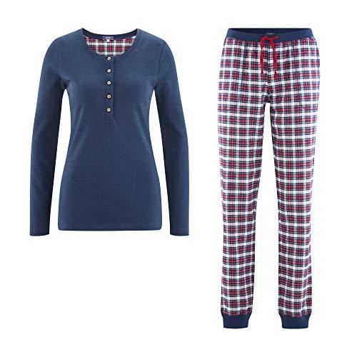 Living Crafts Flanell-Schlafanzug M, Tartan
