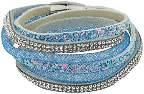 ♡ Dein täglicher Begleiter - Dieses modische Armband macht jedes deiner Outfits zum Highlight ♡ Armkettchen | Armband | Wickelarmband | Armreif | Damen | Women | blau