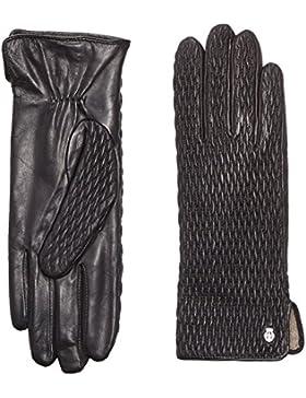 Roeckl Damen Handschuhe Chic Ruffle, Einfarbig