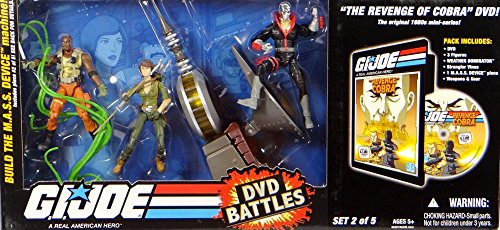 G. I. Joe Battle Pack mit Lady Jaye, Destro & Roadblock + Weather Dominator - Revenge of the Cobra incl. DVD - Battlepack von Hasbro