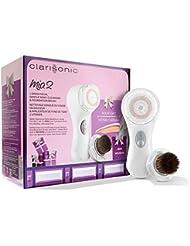 Coffret Clarisonic Mia 2 - Brosse de Nettoyage Sonique Visage avec 2 Vitesses + Embout applicateur de fond de teint