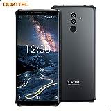 Oukitel K8 4G Smartphone Débloqué,6.0 Pouces 18: 9 FHD+ Écran,Android 8.0,5000mAh Batterie, MTK6750T Octa-Core, 4GO RAM 64GO ROM, caméra Frontale de 5MP + Double caméra arrière de 13MP+ 2MP, Face ID