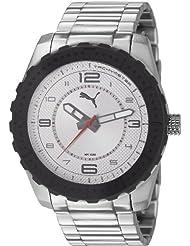 Puma Time Herren-Armbanduhr XL Cross Analog Quarz Edelstahl PU103091001