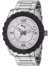 Puma Time Herren-Armbanduhr XL Cross Analog Quarz Edelstahl PU103091001