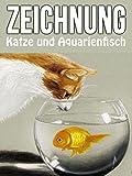 Clip: Zeichnung Katze und Aquarienfisch