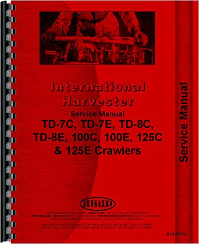 International Harvester TD7E Handbuch für Crawler (SN# 0-9500) -