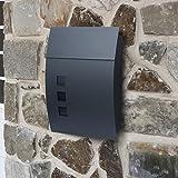 Briefkasten Postkasten Wandbriefkasten Maiboxen ANTHRAZIT SN3649