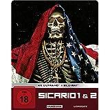 Sicario 1 & 2 / Limited Steelbook Edition / 4K Ultra HD / exklusiv Amazon [Blu-ray]