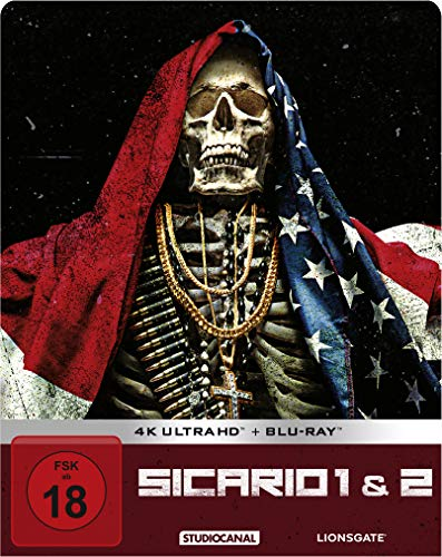 Sicario 1 & 2 / Limited Steelbook Edition / 4K Ultra HD / exklusiv Amazon [Blu-ray]