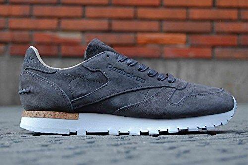 Reebok Classic Leather Lst, urban grey-stone-white urban grey-stone-white