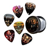 Megadeth Set of 6 Loose Guitar Médiators in Tin ( Collection E )