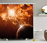 Best Maytex Curtain Rods - Nature Shower Curtain, Woodland Tree Forest Jungle in Review