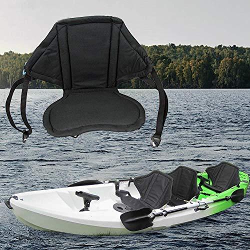 S-tubit abnehmbares Kajak Rückenkissen Universal gepolstertes Kajak Sitzkissen mit Rückenlehne verstellbare Riemen -