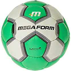 Megaform Fairtrade – Balón de balonmano – amarillo/rojo, color , tamaño talla 1