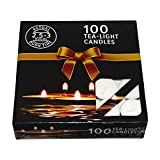 #7: Nanki Trades Wax Tea Light Candle (White, Set of 100)