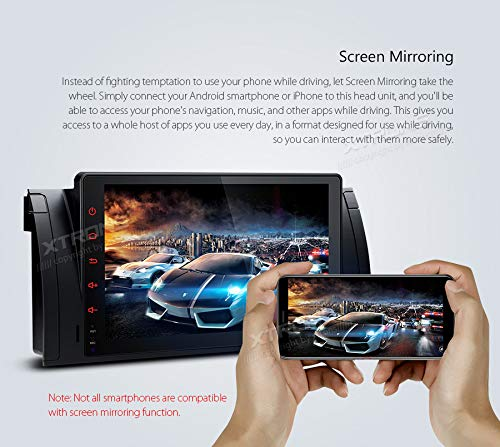 XTRONS-9-Autoradio-mit-Touch-Screen-Android-90-Quad-Core-Multimedia-Player-Autostereo-untersttzt-4G-WiFi-Bluetooth-PlugPlay-Design-2GB-16GB-DAB-OBD2-FR-BMW-E53