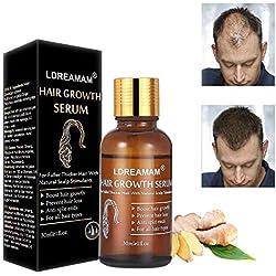 Hair serum,Sérum de croissance des cheveux,Treatment Hair Serum,Renforce les Follicules pour la Repousse des Cheveux,Aide à la pousse des cheveux