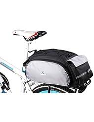 ROSWHEEL la nouvelle arrivée de porte-bagages de vélo–housse siège Fret Bag Rear Pack Trunk Pannier Sac à main Étui de protection multifonction