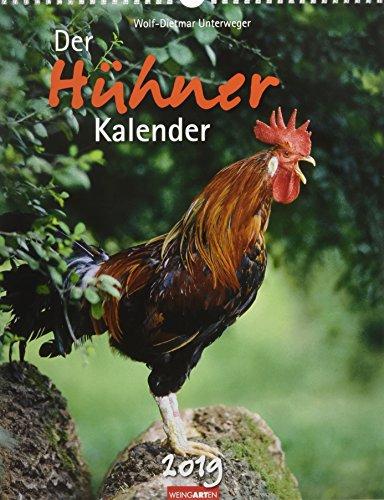 Der Hühnerkalender - Kalender 2019