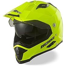 Dual Sport Aventura Enduro Casco de Motocross NENKI NK NK-313,Ece Aprobado (