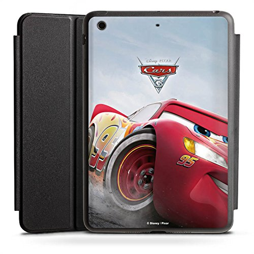 DeinDesign Apple iPad Mini Smart Case schwarz Hülle mit Ständer Schutzhülle Lightning McQueen Cars 3 Disney Cars