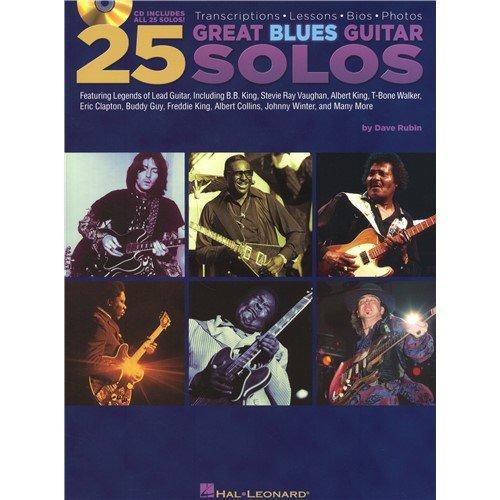 dave-rubin-25-great-blues-guitar-solos-transcriptions-lessons-bios-and-photos-partitions-cd-pour-gui