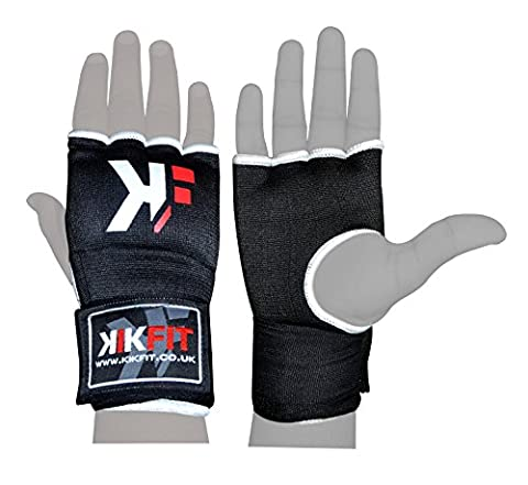 Gants KWIK FIT Gel Red Boxing Inner Wrap main, Grappling gants, Punch Sac de protection Large / X Grandes