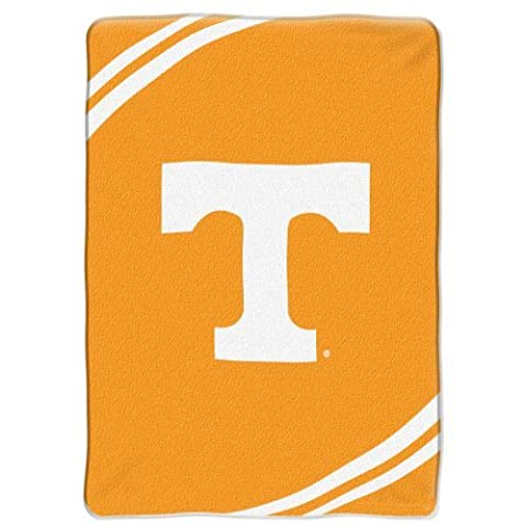 NCAA Tennessee Volunteers Force Royal Plush Raschel Throw Blanket, 60x80-Inch by Northwest