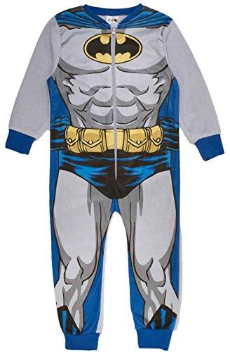 Various Jungen-Pyjama/Pyjama aus Fleece, für Kinder von 1-10 Jahren Gr. 3-4 Jahre, Batman - Novelty (Fancy Schnelle Dress Lieferung)