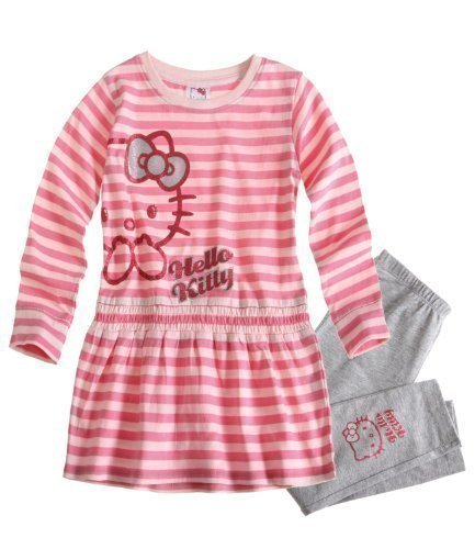 Hello Kitty Tunica mit Leggins rosa (128/134)