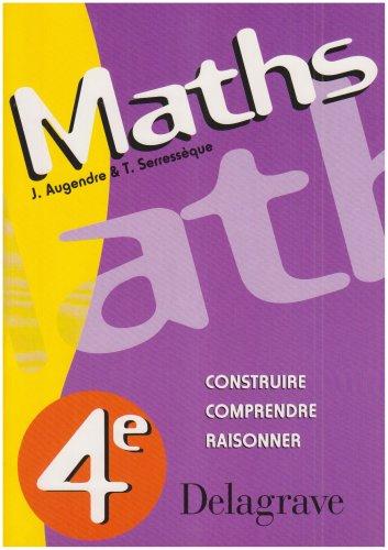 Maths, 4e en SEGPA (Livre de l'élève)