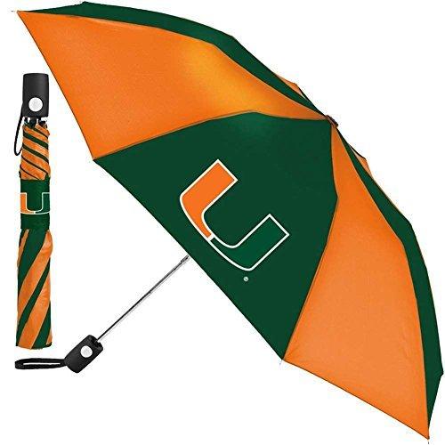 Miami Hurricanes Regenschirm-Auto zusammenklappbar