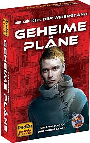 Preisvergleich Produktbild Heidelberger Spieleverlag HE767 - Der Widerstand, Geheime Pläne - Erweiterung