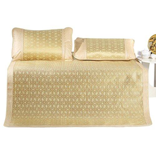 J&X Coole Matratzenmatten Faltbare Klimaanlage Pad Ice Silk Bed Mat Heimtextilien (Color : 150 * 200CM) (Pet-cool Klimaanlage)